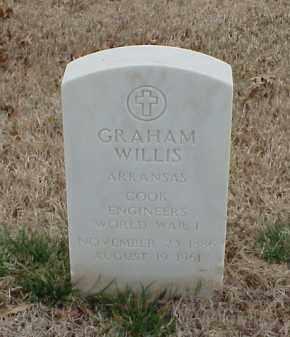 WILLIS  (VETERAN WWI), GRAHAM - Pulaski County, Arkansas | GRAHAM WILLIS  (VETERAN WWI) - Arkansas Gravestone Photos