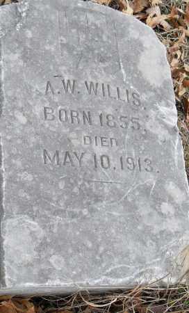 WILLIS, A W - Pulaski County, Arkansas | A W WILLIS - Arkansas Gravestone Photos