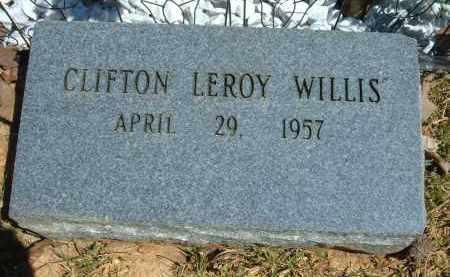 WILLIS, CLIFTON LEROY - Pulaski County, Arkansas | CLIFTON LEROY WILLIS - Arkansas Gravestone Photos