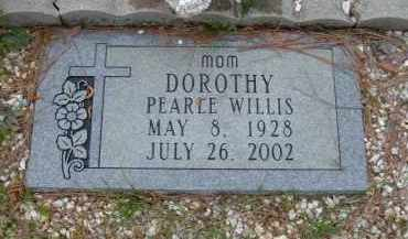 BATES WILLIS, DOROTHY PEARLE - Pulaski County, Arkansas | DOROTHY PEARLE BATES WILLIS - Arkansas Gravestone Photos