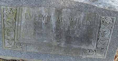 WILLIS, EVELYN M - Pulaski County, Arkansas   EVELYN M WILLIS - Arkansas Gravestone Photos