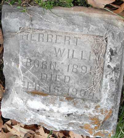 WILLIS, HERBERT - Pulaski County, Arkansas   HERBERT WILLIS - Arkansas Gravestone Photos