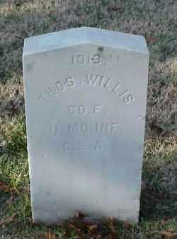 WILLIS (VETERAN CSA), THOMAS - Pulaski County, Arkansas | THOMAS WILLIS (VETERAN CSA) - Arkansas Gravestone Photos