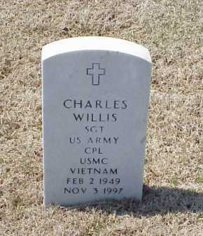 WILLIS (VETERAN VIET), CHARLES - Pulaski County, Arkansas   CHARLES WILLIS (VETERAN VIET) - Arkansas Gravestone Photos