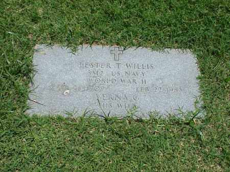 WILLIS (VETERAN WWII), LESTER T - Pulaski County, Arkansas   LESTER T WILLIS (VETERAN WWII) - Arkansas Gravestone Photos