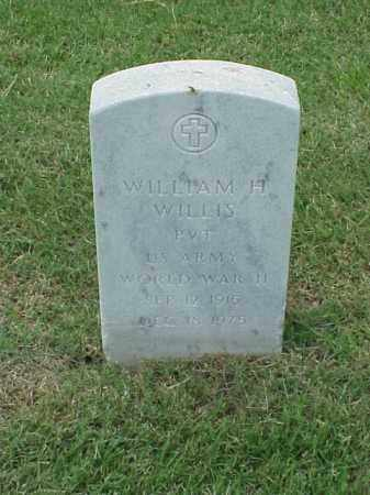 WILLIS (VETERAN WWII), WILLIAM H - Pulaski County, Arkansas | WILLIAM H WILLIS (VETERAN WWII) - Arkansas Gravestone Photos