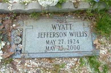 WILLIS, WYATT JEFFERSON - Pulaski County, Arkansas | WYATT JEFFERSON WILLIS - Arkansas Gravestone Photos