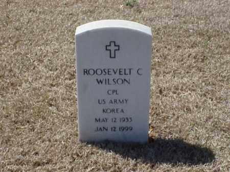 WILSON  (VETERAN KOR), ROOSEVELT C - Pulaski County, Arkansas | ROOSEVELT C WILSON  (VETERAN KOR) - Arkansas Gravestone Photos