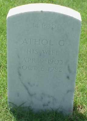 WILSON, ATHOL G. - Pulaski County, Arkansas | ATHOL G. WILSON - Arkansas Gravestone Photos