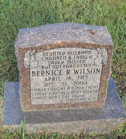 WILSON, BERNICE R. - Pulaski County, Arkansas | BERNICE R. WILSON - Arkansas Gravestone Photos
