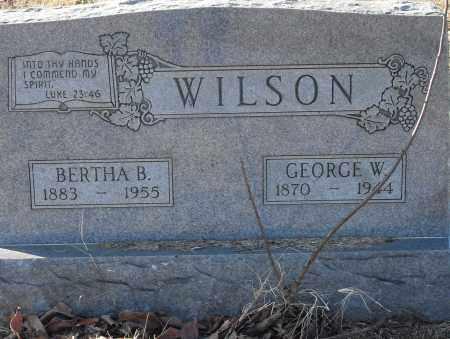 WILSON, GEORGE W. - Pulaski County, Arkansas | GEORGE W. WILSON - Arkansas Gravestone Photos