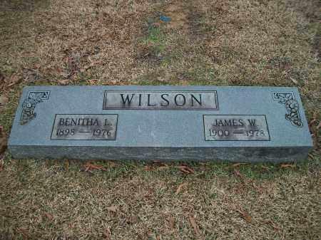 WILSON, JAMES W. - Pulaski County, Arkansas | JAMES W. WILSON - Arkansas Gravestone Photos