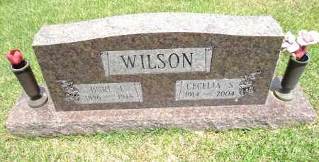 WILSON, BURL F - Pulaski County, Arkansas | BURL F WILSON - Arkansas Gravestone Photos
