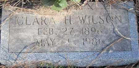 WILSON, CLARA H - Pulaski County, Arkansas | CLARA H WILSON - Arkansas Gravestone Photos