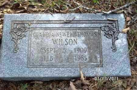WILSON, CLAUDIA - Pulaski County, Arkansas | CLAUDIA WILSON - Arkansas Gravestone Photos