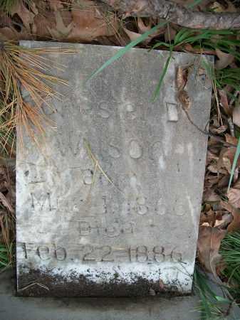 WILSON, CHESTER D. - Pulaski County, Arkansas | CHESTER D. WILSON - Arkansas Gravestone Photos