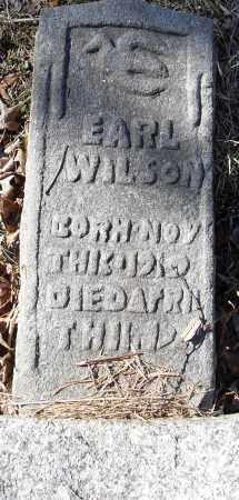 WILSON, EARL - Pulaski County, Arkansas | EARL WILSON - Arkansas Gravestone Photos