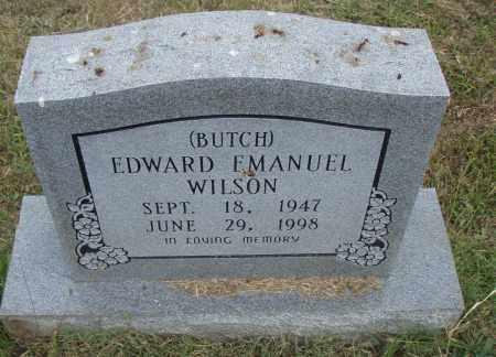 "WILSON, EDWARD EMANUEL ""BUTCH"" - Pulaski County, Arkansas | EDWARD EMANUEL ""BUTCH"" WILSON - Arkansas Gravestone Photos"