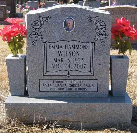WILSON, EMMA - Pulaski County, Arkansas | EMMA WILSON - Arkansas Gravestone Photos
