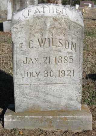 WILSON, E C - Pulaski County, Arkansas | E C WILSON - Arkansas Gravestone Photos