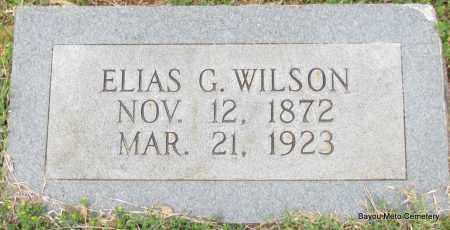 WILSON, ELIAS G - Pulaski County, Arkansas | ELIAS G WILSON - Arkansas Gravestone Photos