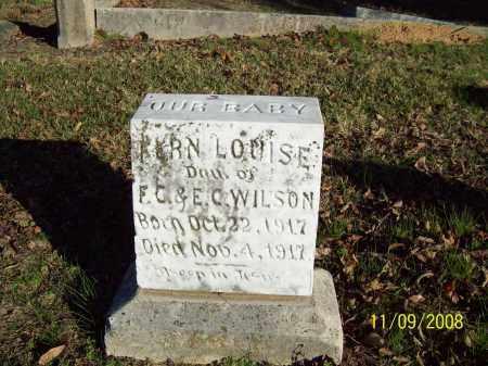 WILSON, FERN LOUISE - Pulaski County, Arkansas   FERN LOUISE WILSON - Arkansas Gravestone Photos