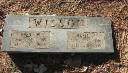 WILSON, HAZEL  I - Pulaski County, Arkansas | HAZEL  I WILSON - Arkansas Gravestone Photos