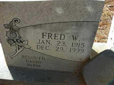 WILSON, FRED W (STONE # 2) - Pulaski County, Arkansas | FRED W (STONE # 2) WILSON - Arkansas Gravestone Photos