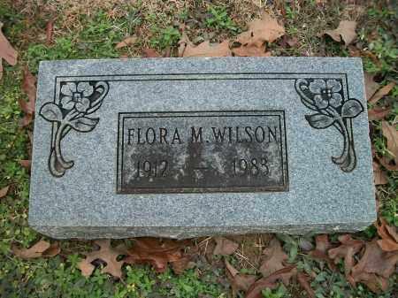 WILSON, FLORA M. - Pulaski County, Arkansas | FLORA M. WILSON - Arkansas Gravestone Photos