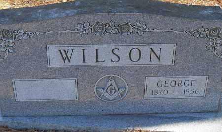 WILSON, GEORGE - Pulaski County, Arkansas | GEORGE WILSON - Arkansas Gravestone Photos