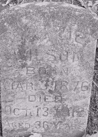 WILSON, GE_RTIE - Pulaski County, Arkansas   GE_RTIE WILSON - Arkansas Gravestone Photos