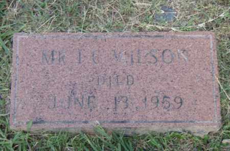 WILSON, I.G. - Pulaski County, Arkansas   I.G. WILSON - Arkansas Gravestone Photos