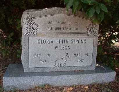 WILSON, GLORIA EDITH - Pulaski County, Arkansas | GLORIA EDITH WILSON - Arkansas Gravestone Photos