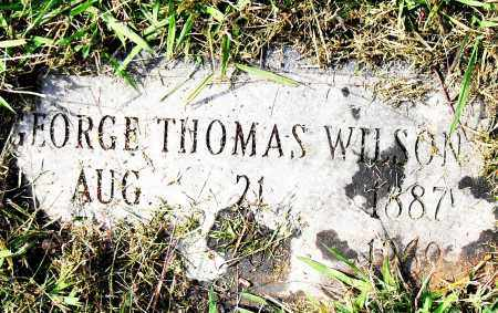 WILSON, GEORGE THOMAS - Pulaski County, Arkansas | GEORGE THOMAS WILSON - Arkansas Gravestone Photos