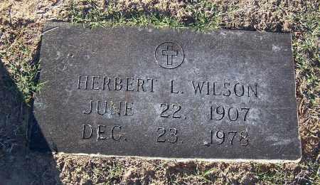 WILSON, HERBERT L - Pulaski County, Arkansas | HERBERT L WILSON - Arkansas Gravestone Photos