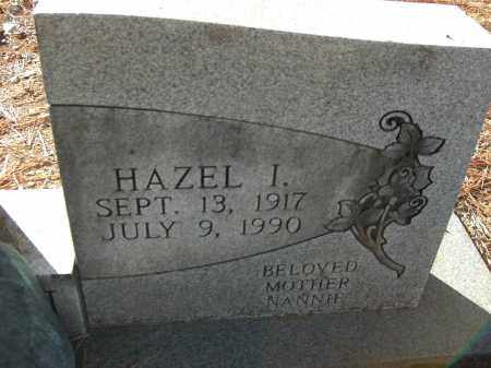 WILSON, HAZEL I (STNE # 2) - Pulaski County, Arkansas | HAZEL I (STNE # 2) WILSON - Arkansas Gravestone Photos