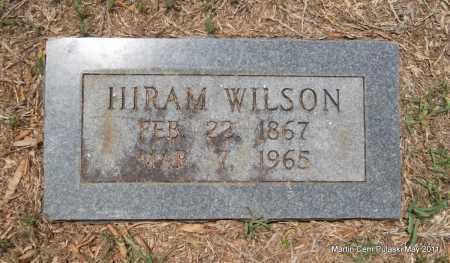 WILSON, HIRAM - Pulaski County, Arkansas   HIRAM WILSON - Arkansas Gravestone Photos