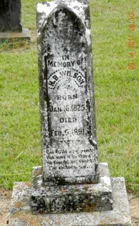 WILSON, HUGH B - Pulaski County, Arkansas | HUGH B WILSON - Arkansas Gravestone Photos