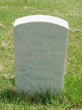 WILSON, IBA J - Pulaski County, Arkansas   IBA J WILSON - Arkansas Gravestone Photos