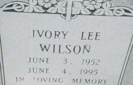 WILSON, IVORY LEE - Pulaski County, Arkansas | IVORY LEE WILSON - Arkansas Gravestone Photos
