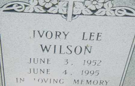WILSON, IVORY LEE - Pulaski County, Arkansas | IVORY LEE WILSON - Arkansas Gravestone Photos