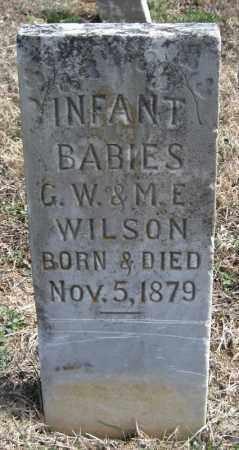 WILSON, INFANTS - Pulaski County, Arkansas | INFANTS WILSON - Arkansas Gravestone Photos