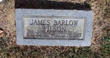 WILSON, JAMES BARLOW - Pulaski County, Arkansas | JAMES BARLOW WILSON - Arkansas Gravestone Photos