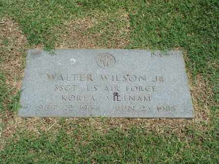 WILSON, JR (VETERAN 2 WARS), WALTER - Pulaski County, Arkansas | WALTER WILSON, JR (VETERAN 2 WARS) - Arkansas Gravestone Photos