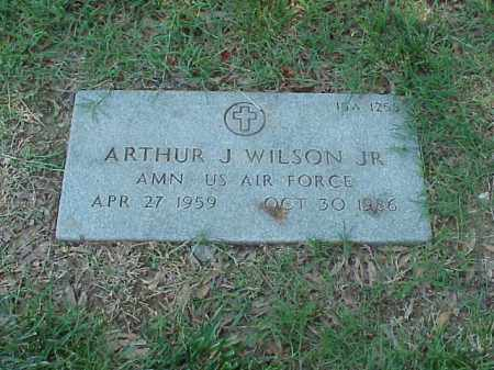 WILSON, JR (VETERAN), ARTHUR J - Pulaski County, Arkansas | ARTHUR J WILSON, JR (VETERAN) - Arkansas Gravestone Photos