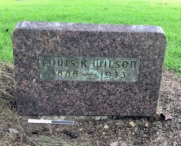 WILSON, LOUIS K. - Pulaski County, Arkansas | LOUIS K. WILSON - Arkansas Gravestone Photos