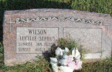 WILSON, LUCILLE - Pulaski County, Arkansas   LUCILLE WILSON - Arkansas Gravestone Photos