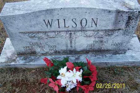 WILSON, THOMAS H - Pulaski County, Arkansas | THOMAS H WILSON - Arkansas Gravestone Photos