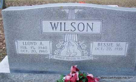 WILSON, LLOYD A - Pulaski County, Arkansas   LLOYD A WILSON - Arkansas Gravestone Photos