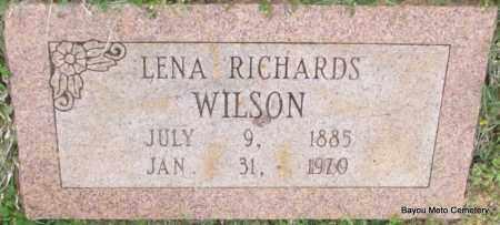 WILSON, LENA - Pulaski County, Arkansas   LENA WILSON - Arkansas Gravestone Photos
